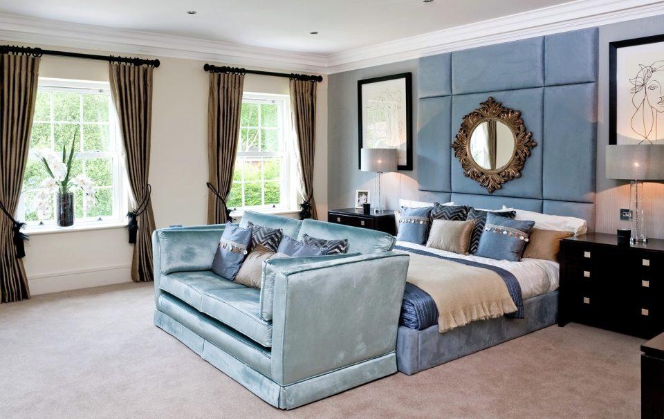 Bedroom at Dene House in Sunningdale.