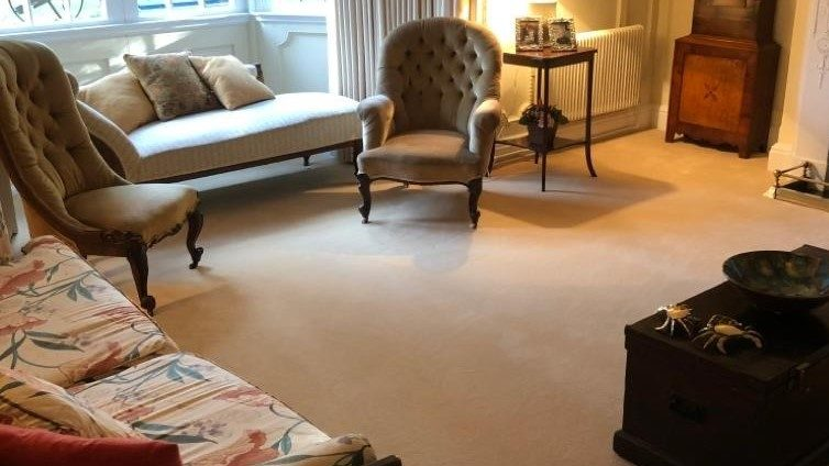 TRADITIONAL HOME WESTEX ULTIMA TWIST LIVING ROOM FITTED CARPET GASKIN