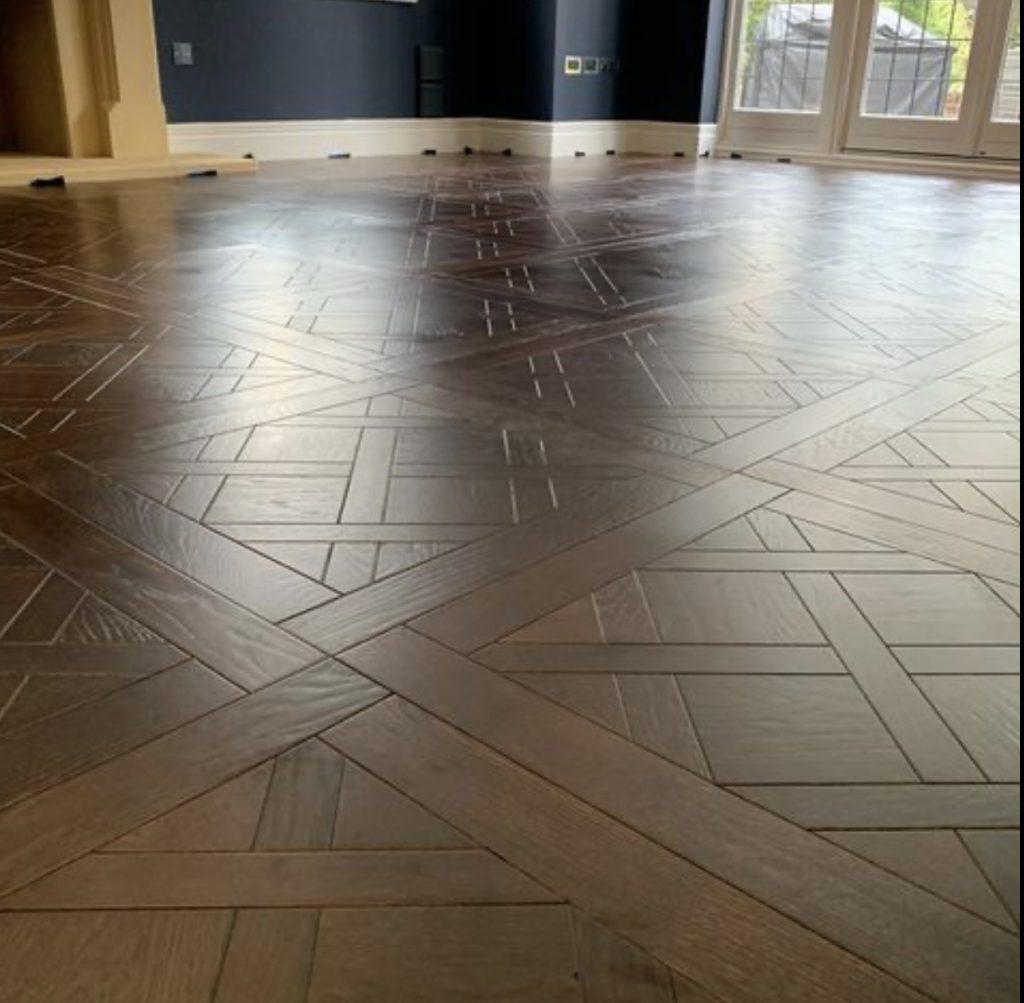 Versailles oak wood parquet flooring
